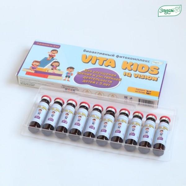 Биоактивный фитокомплекс Vita Kids IQ Vision