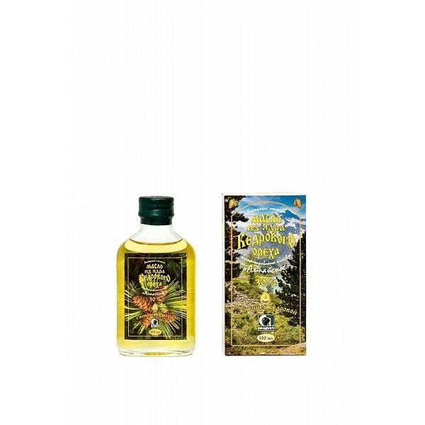 Масло из ядра кедрового ореха с живицей кедровой 30% нерафинированное пищевое