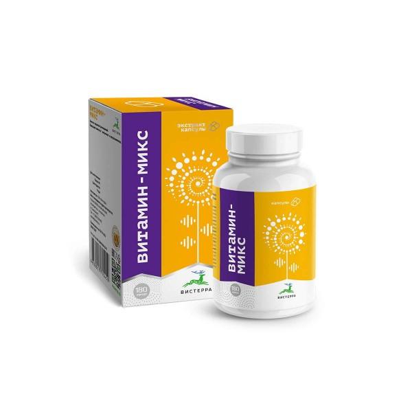 Напиток растворимый Капсулы Витамин микс 180 шт.